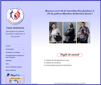 Site Association Coeur Assistance